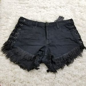 One Teaspoon Brando Jean Shorts 26